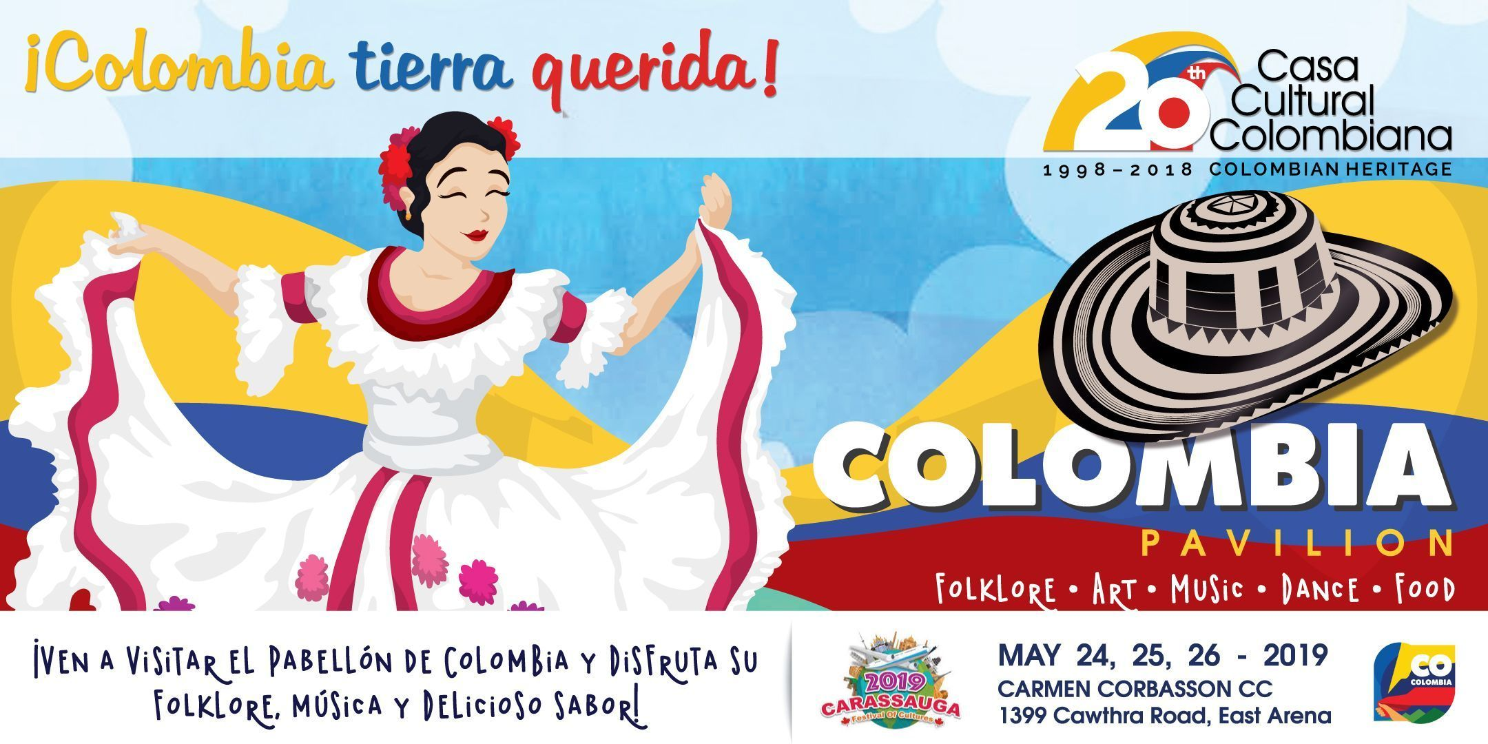 Facebook Cover Carassauga 2019