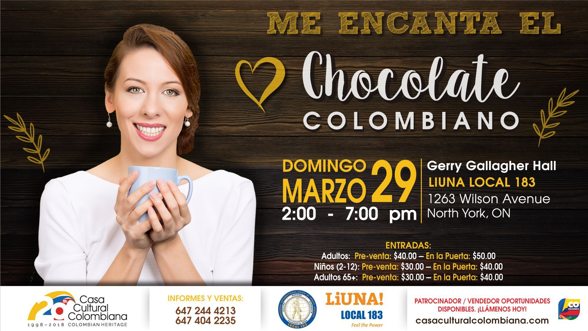 Chocolate Colombiano 2020