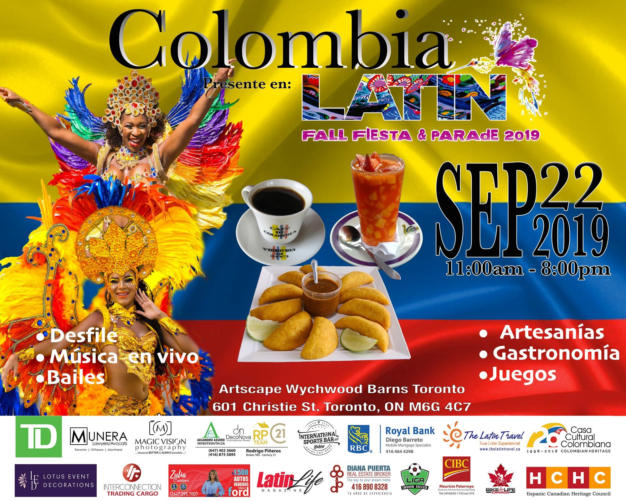 Latin Fall Fiesta and Parade COLOMBIA